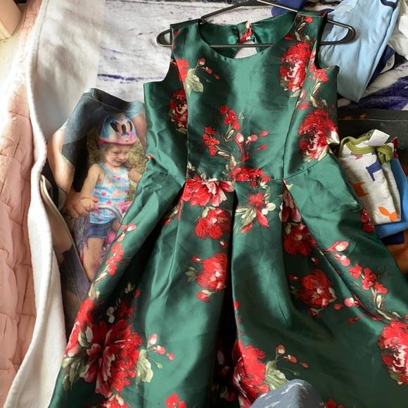 Children's place Christmas dress. Girls size 16